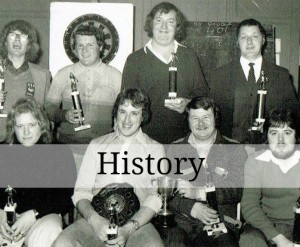 History of the darts team